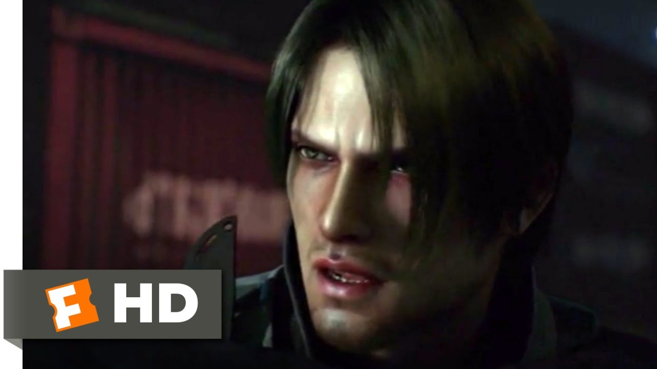 Resident Evil: Damnation (2012) - B.O.W. Lab Attack Scene (6/10) | Movieclips