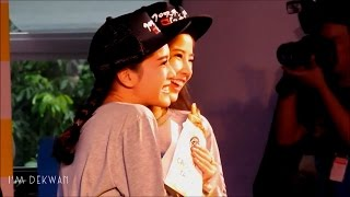 【FANCAM】071115 Fon x Belle   ฉลองครบรอบ 1 ปี The Ultimate Croissant Taiyaki Party