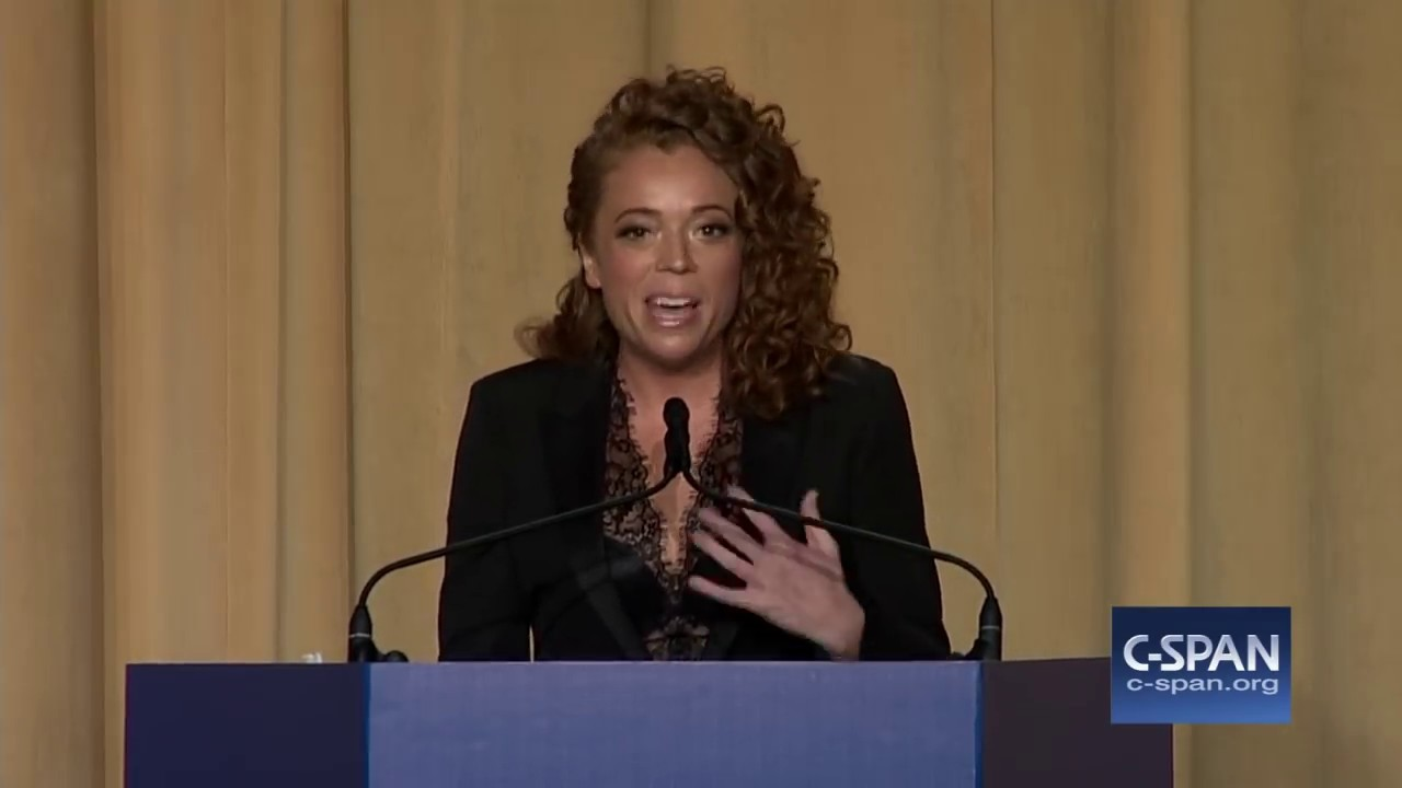 Michelle Wolf's 20 minute stand-up at the dinner.