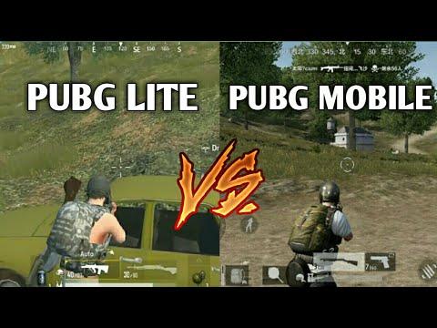 Pubg Mobile Vs Pubg Lite Comparsion