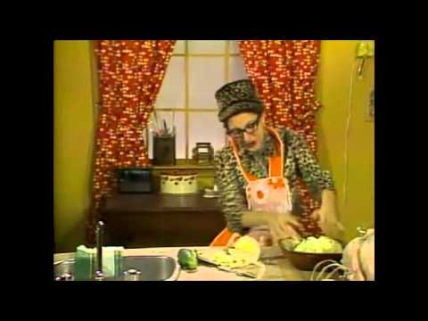 Andrea Martin - Cooking With Edith Prickley (SCTV)
