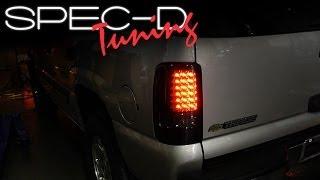 Spyder Auto Chevy Suburban//Tahoe 1500//2500//GMC Yukon//Yukon XL//GMC Yukon Denali//Denali XL Black Altezza Tail Light