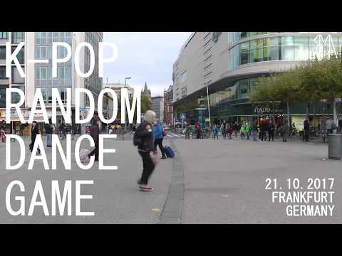 K-Pop Random Dance Game  in Frankfurt Germany Day 1