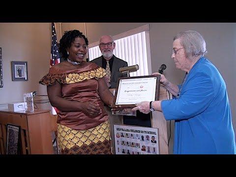 Betty Bengo Serunjoji Receives Award Humanitarian Women of the Year. March 18th, 2018