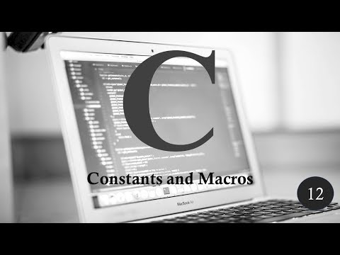 C Programming | Tutorial 11 | Using Constants & Macros | TechFriends thumbnail