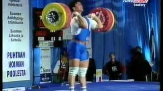 1998 World Weightlifting 94 Kg Highlights