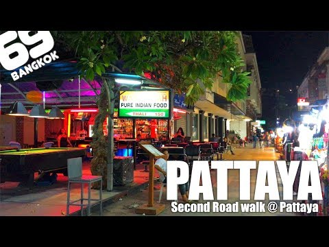 Pattaya Second Road / Mike Mall to Beach Road