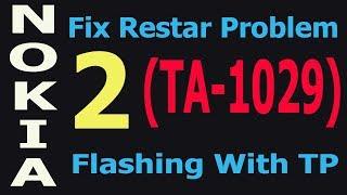 How To Flash Nokia 2 (TA-1029) Fix Restart Problem ta-1029 Urdu/Hindi