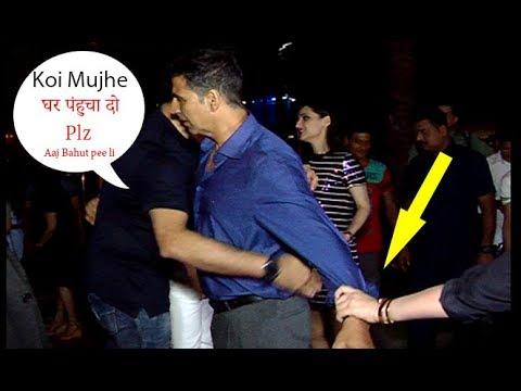 Drunk Akshay Kumar