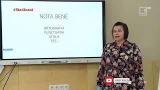 Pregăteşte-te de examene împreună cu Moldova 1 / Limba română - clasa XII