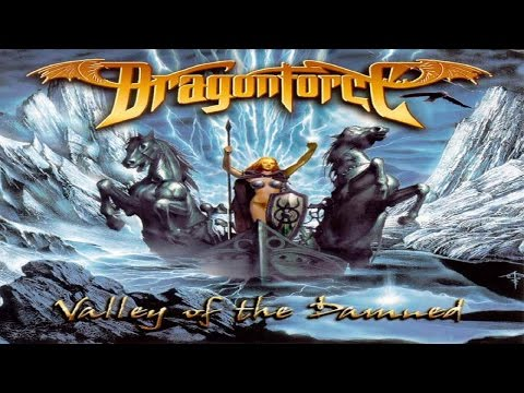 DragonForce  Valley Of The Damned  Lyrics on screen  HD