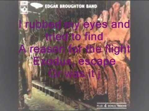 EDGAR BROUGHTON BAND - Evening Over Rooftops (lyrics)