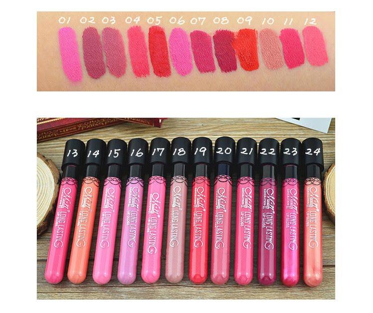 Hot Pink Lipstick - smokey purple eyes and hot pink lipstick ...