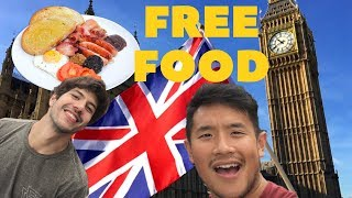 How to get FREE FOOD in LONDON