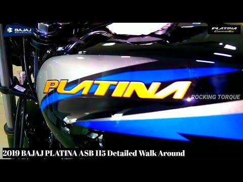 New Bajaj PLATINA 115 ( ASB ) Full Review / Price / Features / Milage & Detailed Walk Around.