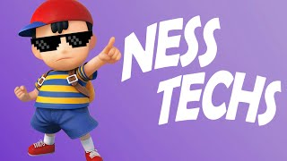 Ness Advanced Techniques - Super Smash Bros. for Wii U Tips and Tricks