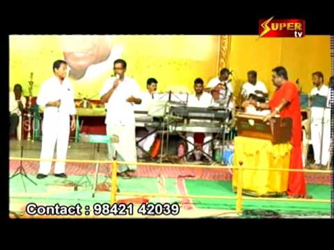 Thiruvudaiyan Song in Angingu Orchestra by Super tv   Kaasiku pogum sanyaasi
