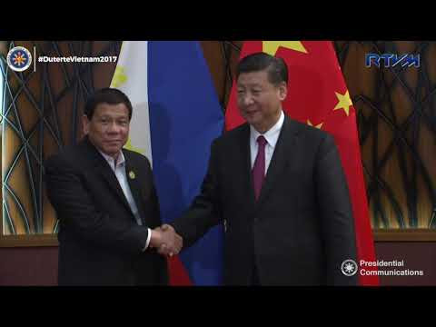 Bilateral Meeting with President Xi Jinping of China 11/11/2017
