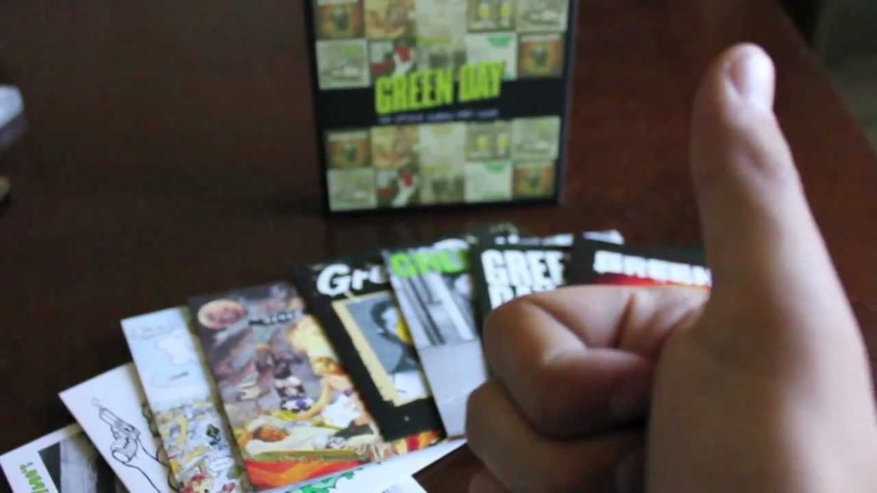 green day boxset the studio albums 19902009 unboxing