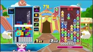 An Idiot Imports Episode #11: Puyo Puyo Tetris Japanese Vita Gameplay