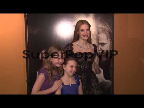 Megan Charpentier, Isabelle Nélisse and Jessica Chastain...