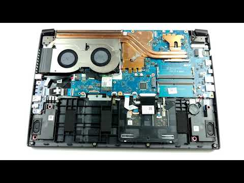 ️ Acer Aspire 7 (A715-42G) - disassembly and upgrade options