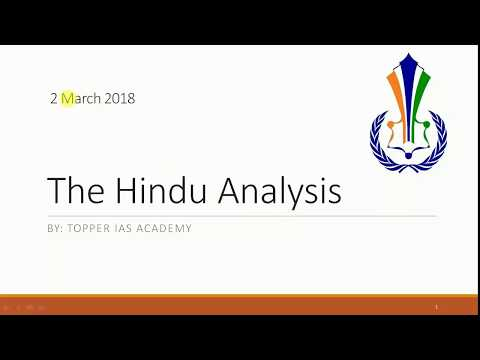 2 March The Hindu Analysis ( AI,China's Rise, Emission Trading, Afghanistan)