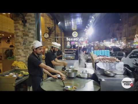 Katakat at Tayyabiz | Karachi Hussainabad Food Street | Pakistan Street Food