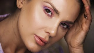 THE EASIEST  COLORFUL MAKEUP LOOK | ALI ANDREEA
