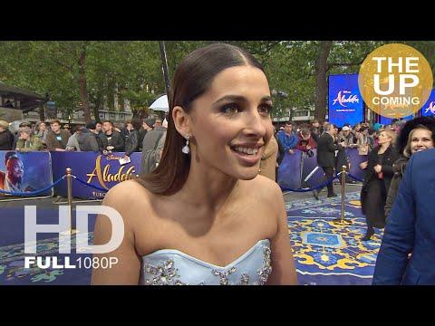 Aladdin: Naomi Scott (Jasmine) interview at premiere in London