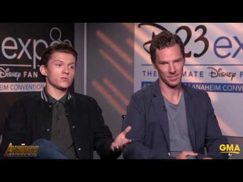 Thumbnail: Benedict Cumberbatch Stops Tom Holland From Revealing Any Big Avengers Infinity War Secrets