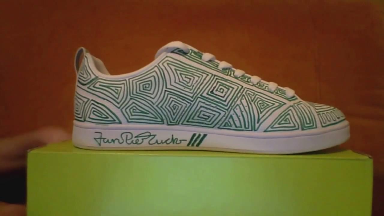 Adidasschuh Luckmann Painting Auf By Jan Edding Pierre 8kOnwPX0