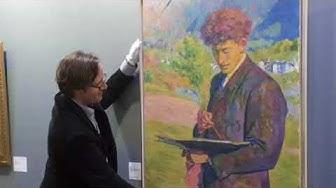 DLF 07.03.2018 Schweizer Maler vor 150 Jahren geboren Giovanni Giacometti