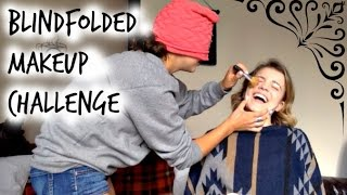 Blindfolded Make Up Challenge!