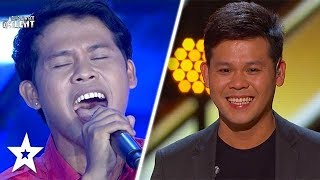 Marcelito Pomoy Audition BEFORE America's Got Talent The Champions   Got Talent Global