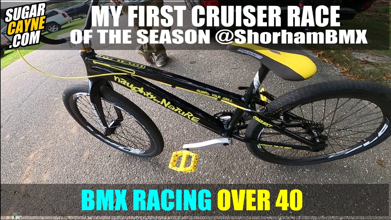 BMX RACING OVER 40: MY FIRST CRUISER RACE IN YEARS!!