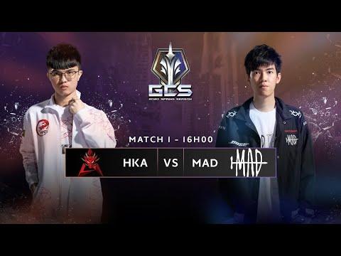 Trực tiếp - HKA vs MAD [Tuần 3 - Ngày 1] | GCS Mùa Xuân 2020
