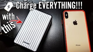 Charge 5 Smartphones at ONCE with the Zendure A8PD