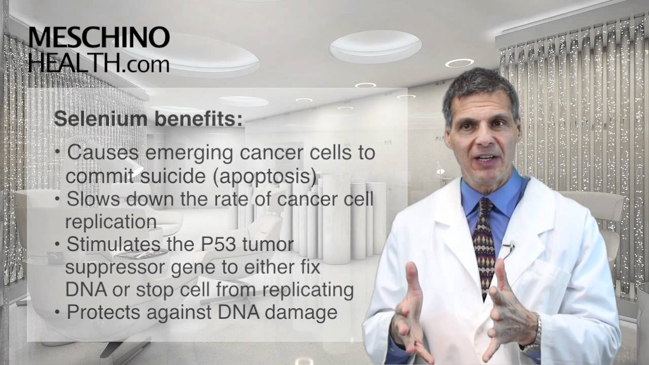 The Benefits of Selenium for Treating Cancer