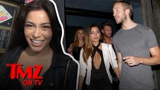 'America's Next Top Model' Contestant Got 86'd Because She Dated Calvin Harris?! | TMZ TV