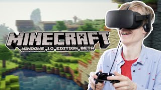 MINECRAFT IN VR! | Minecraft: Windows 10 Edition (Oculus Rift CV1 Gameplay)