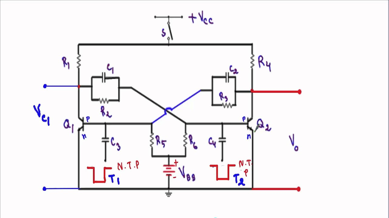 The 555 Timer Bistable Multivibrator Circuit You Can Find Circuits