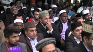 World Muslim Leader inaugurated Mosque in Spain by leading Friday Prayers - MTA News 29th March 2013