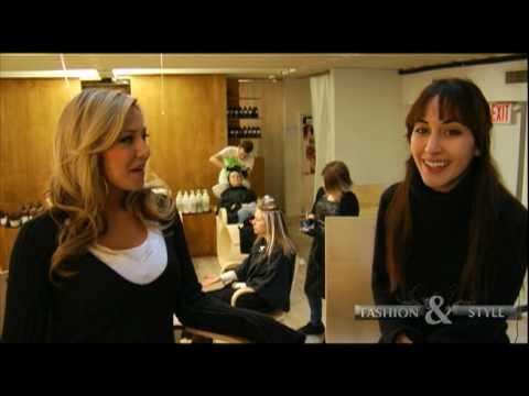 FASHION & STYLE:  with actressmodel Sarah Natochenny