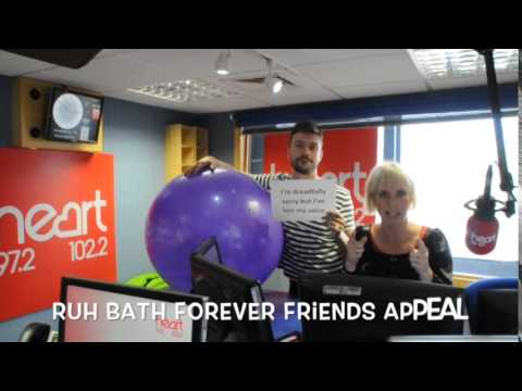 Heart Radio's Ben & Kirsten take the Excalibur Challenge for #recordbreakingballs