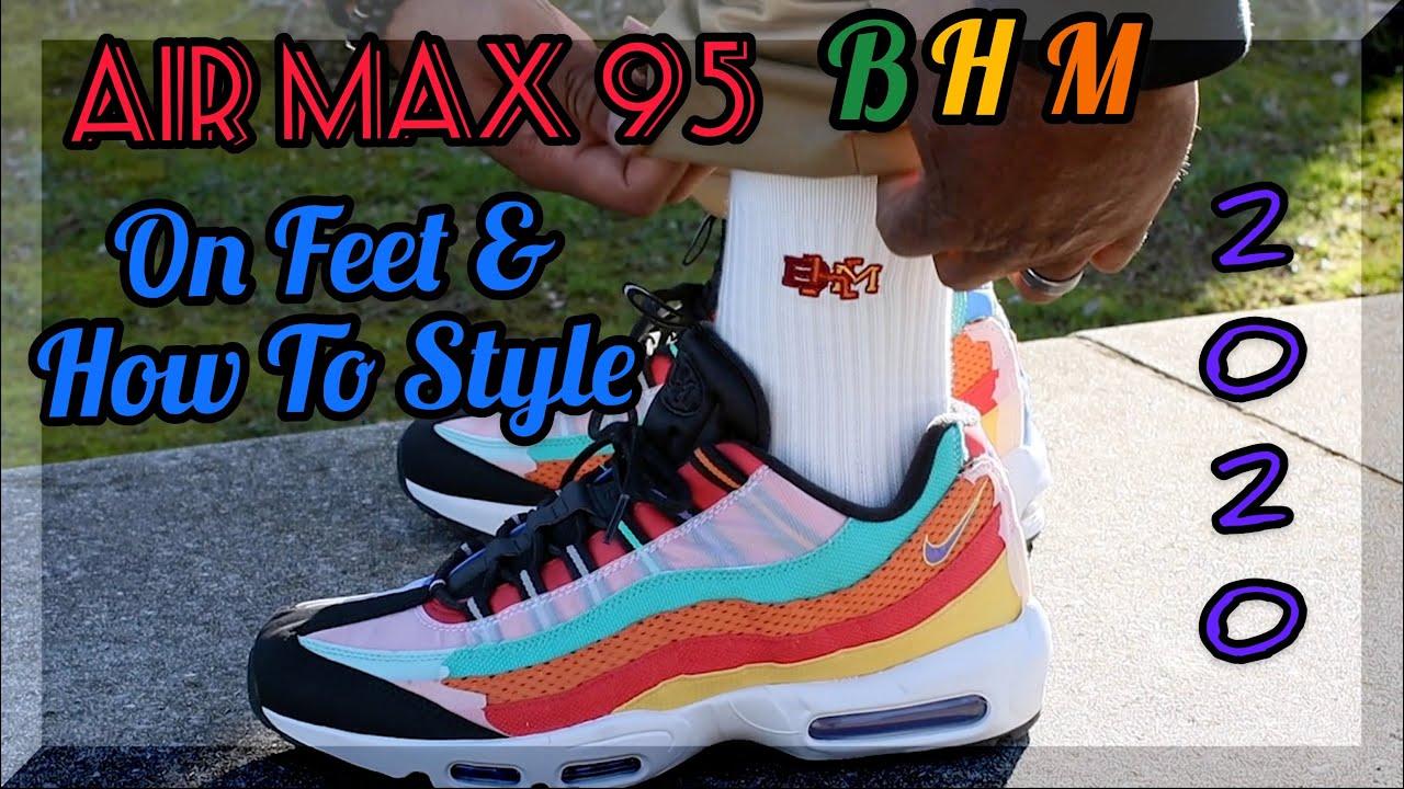 2020 Air Max 95 BHM ✊🏾 (On Feet \u0026 How