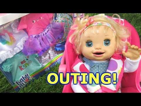 BABY ALIVE Outing To Toys R Us With Baby Alive Ruby Snow!
