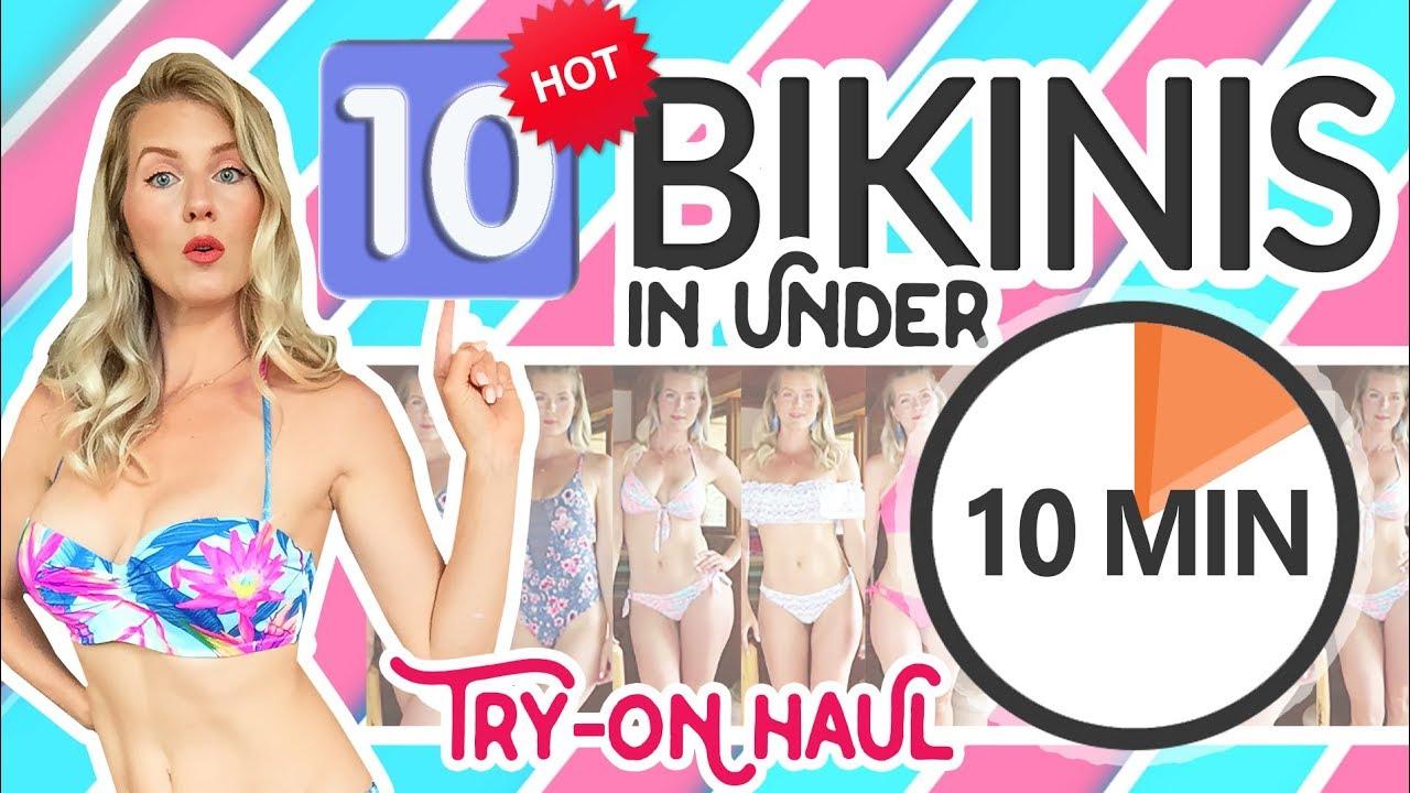 4f9a505fc9eda HOT BIKINI TRY ON HAUL | 10 Bikinis in 10 Minutes! by Kat Wonders