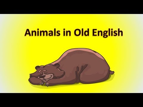 Animals in Old English