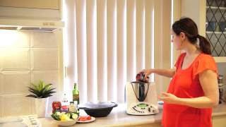 Thermohow - Thermomix Recipe - Steamed Chicken And Veggies With Hidden Veggie Pasta Sauce
